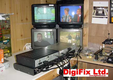 Sky Digiboxes on test